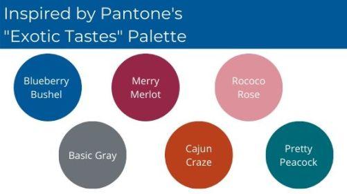 SU Exotic Tastes Palette